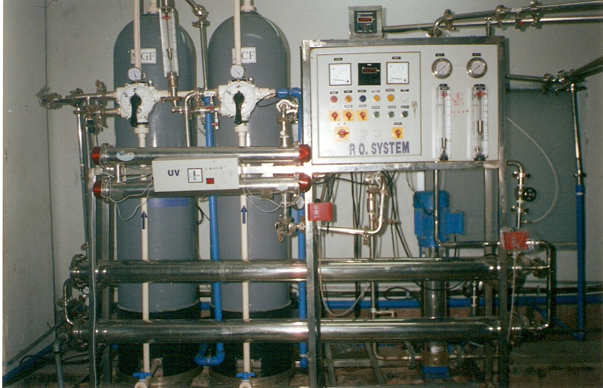 packaged Bottled Water Plant
